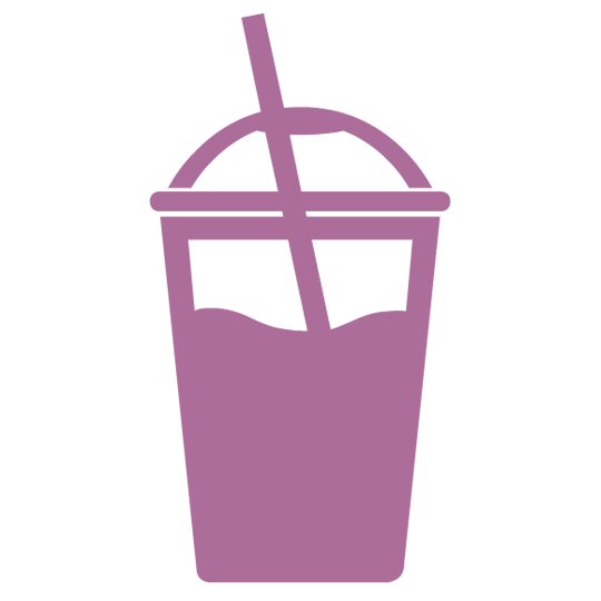Cup with Straw Icon - Refreshments and Smoothies