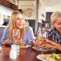 Friends and a dinner table - comprehensive dentistry