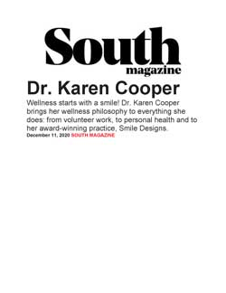 Dr South Article Dr Cooper Page 1